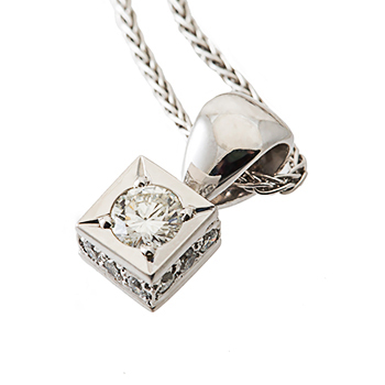 diamond pendant Christhcurch