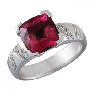 tourmaline and diamond ring Christchurch